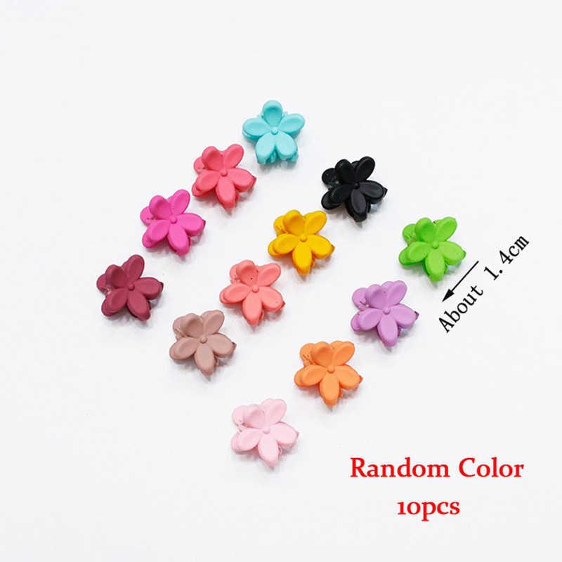 M MISM 1Lot Zufällige Farbe Koreanischen Frauen Nette Haarnadeln Haar Clips Für Kinder Blume Crown Barrettes Haar Klaue Mädchen haar Zubehör