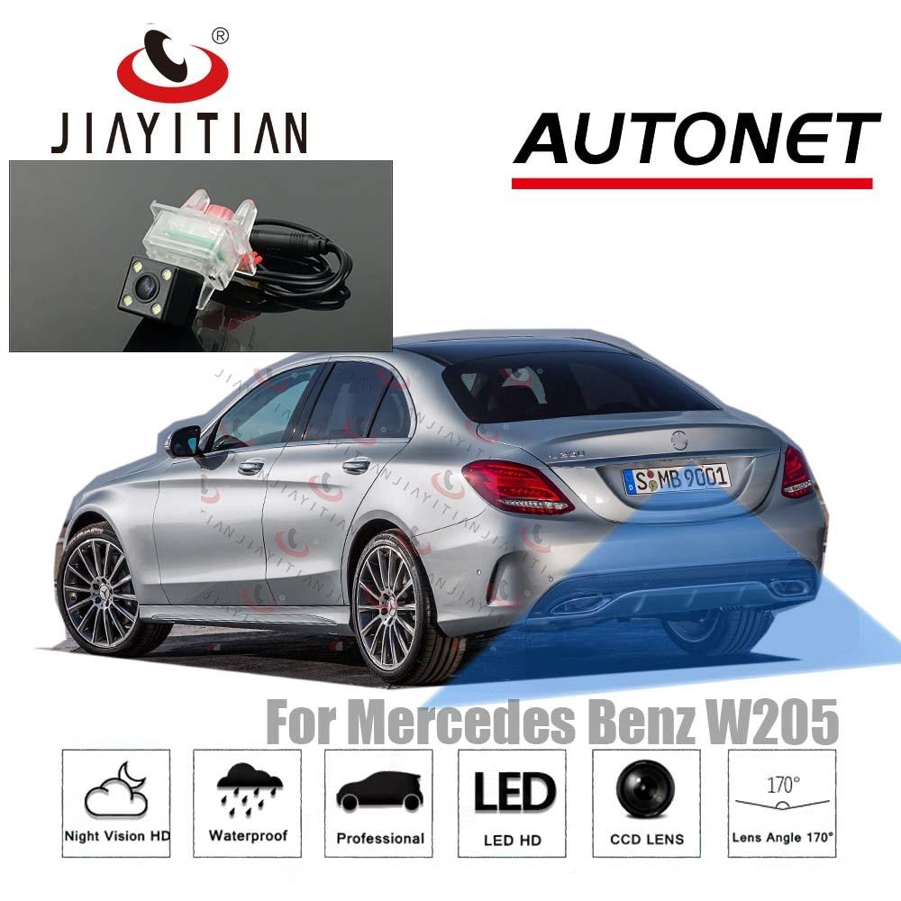 JiaYiTian Rear View Camera For Mercedes Benz W205 Sedan Wagon 2014~2018 CCD/Backup Camera/Reverse Camera License Plate Camera
