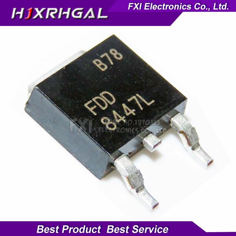 10PCS FDD8447L FDD8447 TO-252 TO252 8447 SMD MOS FET Transistor New Original
