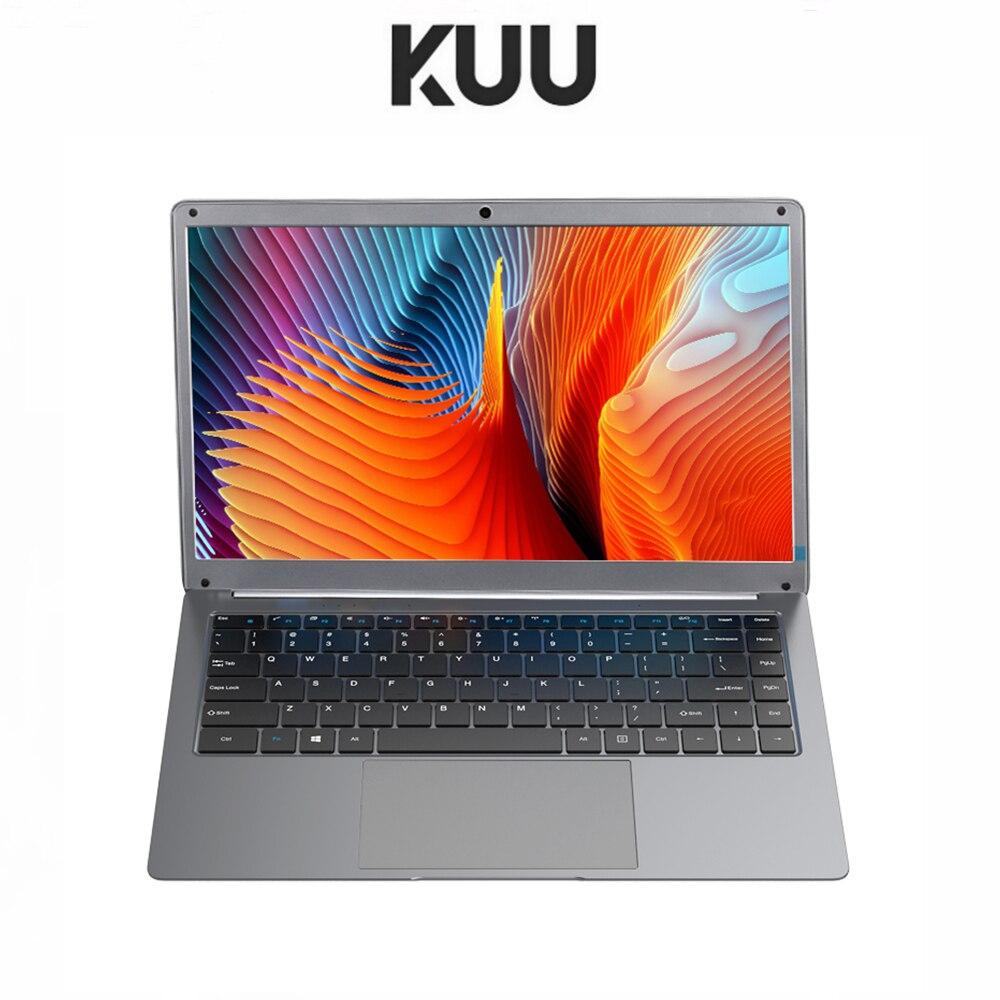 KUU 14,1 дюймовый студенческий ноутбук 6 ГБ ОЗУ 256 ГБ SSD ноутбук для intel J3455 четырехъядерный ультрабук с веб-камерой Bluetooth WiFi офис
