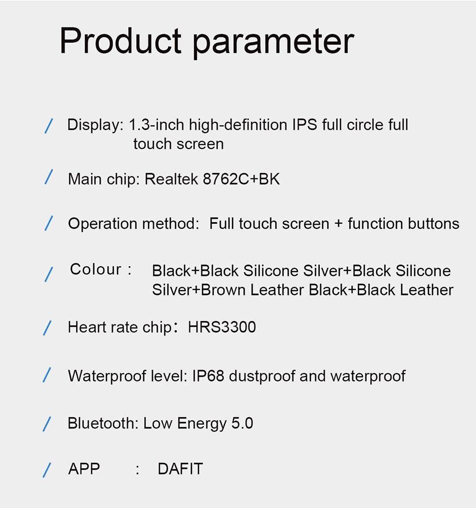 Hda03a72f3510413e867a8c523aae8f23g LIGE 2021 New Smart watch Men IP68 waterproof watch Multiple sports modes heart rate weather Forecast Bluetooth Men Smart watch
