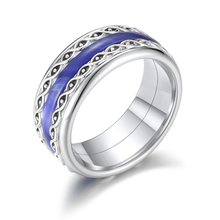 Cremo Edelstahl Ring Lila Harz Damen Layered Core Ring Austauschbar Handgemachte Ring Femme Bijoux