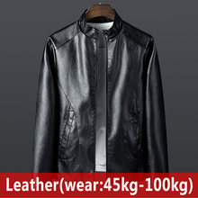2020 New Men's Sheepskin fur leather Jacket Fashion Spring Autumn foreign trade Jackets large size Leather Male Motorcycle Coats(China)