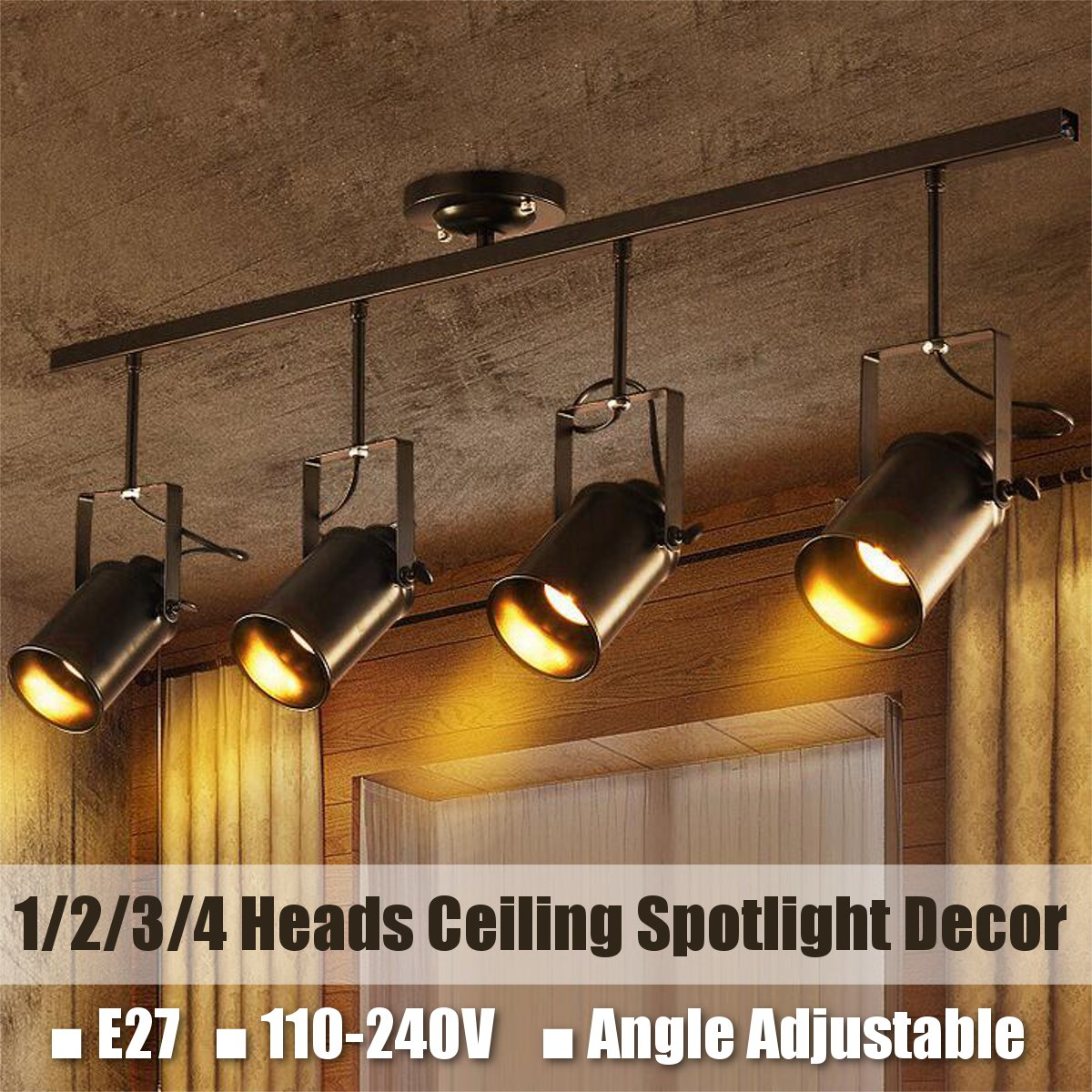 industrial ceiling pendant lamp