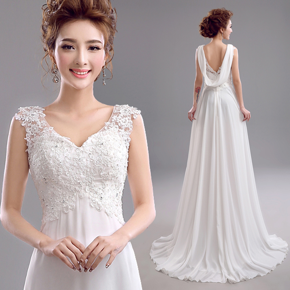 Sexy Backless V-neck Lace Wedding Dresses 2015 Plus Size Mermaid Dresses Gowns.1910.ty.hd
