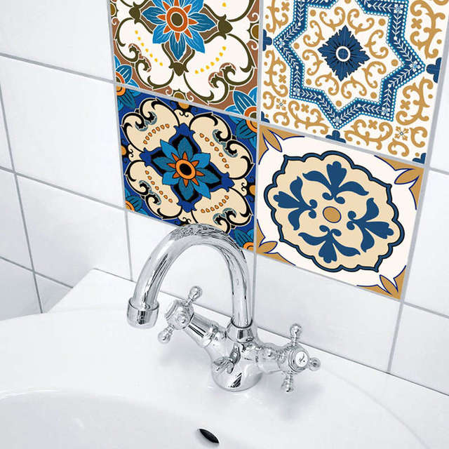 Moroccan Style Tile Stickers 10pc 4