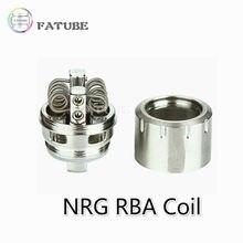 Fatube nrg skrr skrr-s céu solo mais NRG-S rba bobina bolha tubo de vidro para luxe ii gen s kit nrg tanque acessórios do cigarro