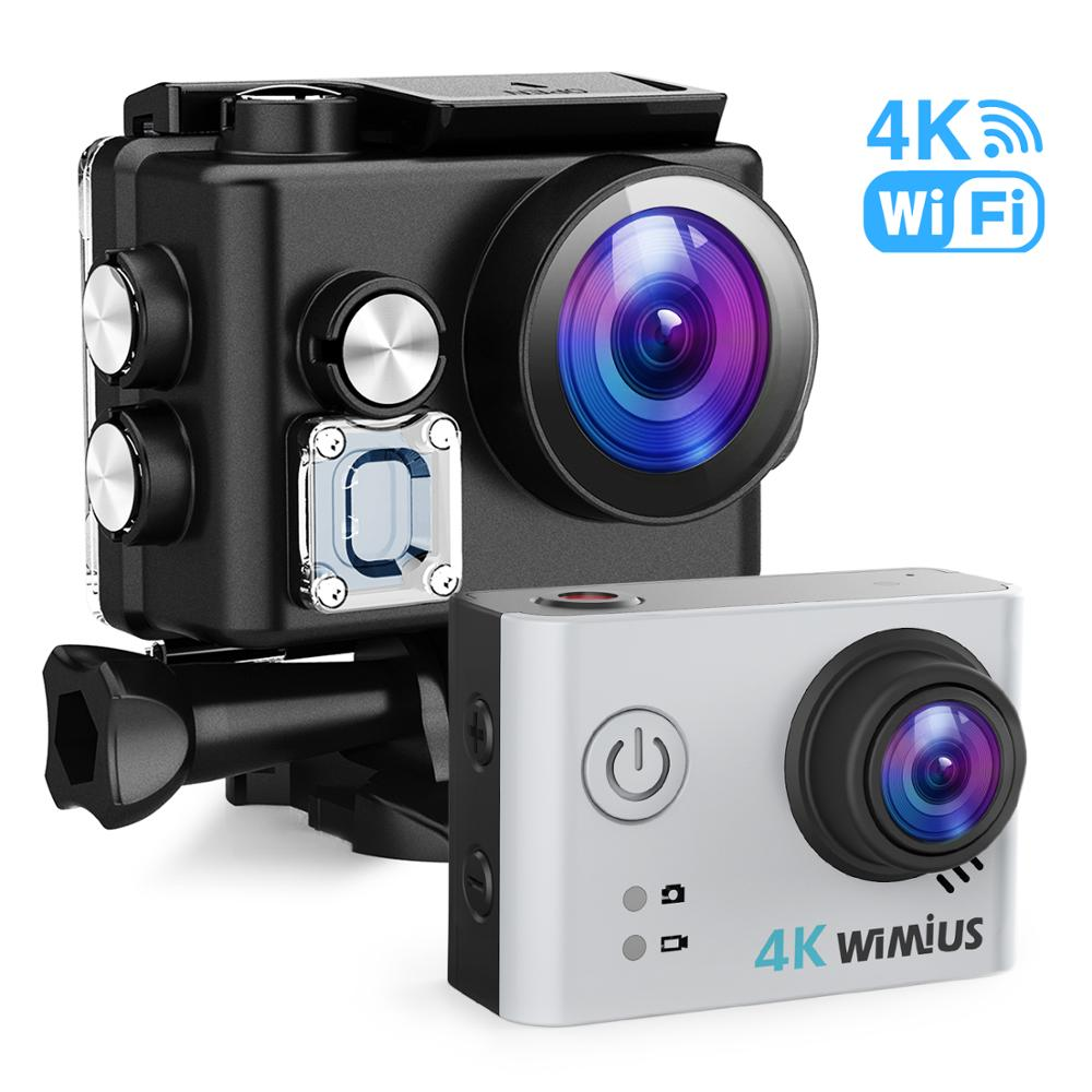 L2 High quality Sports Action Video Cameras 4K WiFi Action Sport Camera HD 170 Degree 30M Waterproof DV Video Camcorder