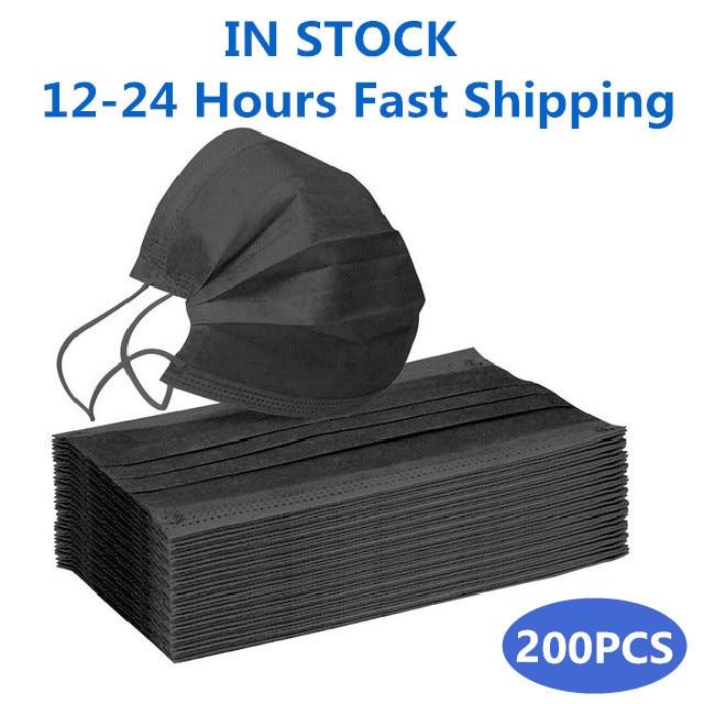 Black-200PCS