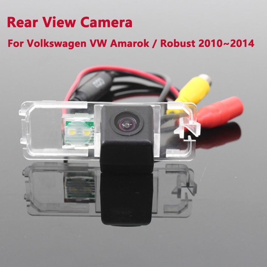 Krtabo HD Vision nocturne caméra de recul pour Volkswagen Amarok robuste 2010 2011 2012 2013 2014 caméra de stationnement de voiture