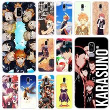 Haikyuu hinata anime voleibol silicone caso para samsung galaxy j2 pro j4 plus j6 j7 prime j8 2018 j4 núcleo j3 2016 j5 2017 ue
