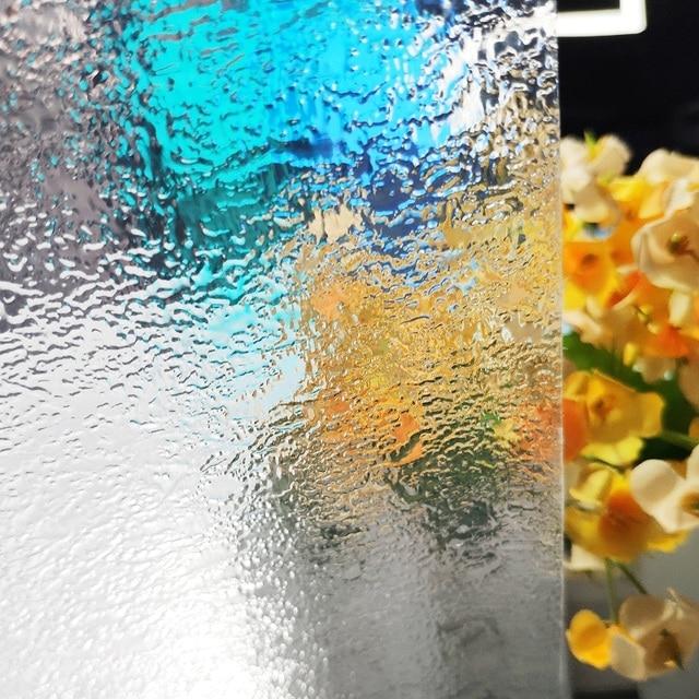 Privacy Window Film No Glue Static Self-adhesive Film Heat Control Anti UV Crystal Pattern Glass Decor Window Stickers 1