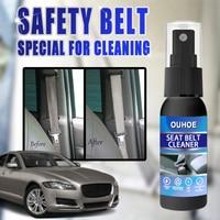 3pc Car Interior Cleaner Liquid Decontamination Accessory Car Interior Decontamination Supplies Car Seat Belt Cleaner 1