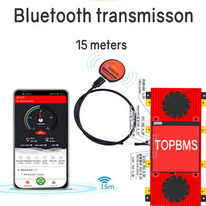 Image 2 - بطارية ليثيوم titanate BMS 22 S 48 فولت 300A400A تطبيق هاتف بلوتوث RS485 يمكن UART لبطارية LTO 2.3V2.4V متصلة في 22 سلسلة