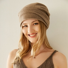 Cashmere-Hat Winter Woman Autumn And Fashion BELIARST Casual 100%Pure