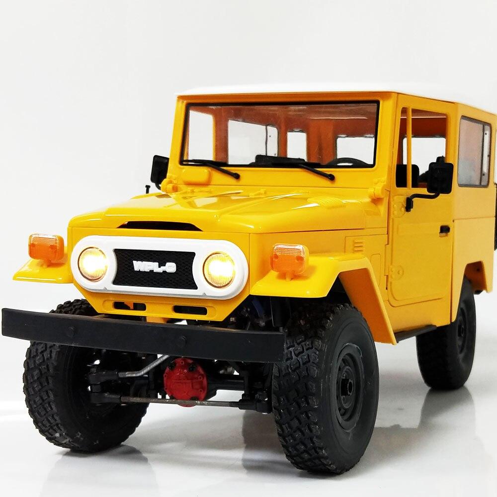 Новейший Радиоуправляемый автомобиль Toyotaa FJ40 4WD, внедорожник для скалолазания, полностью металлический C34KM, дистанционное управление, спорт...