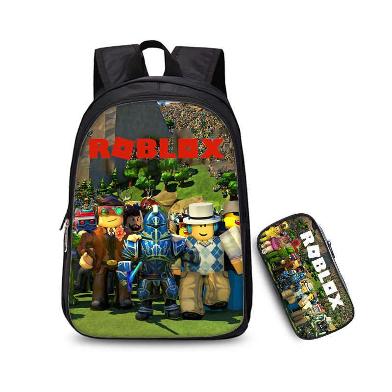 HOT Roblox Game Backpack Boys Girls School Bag Laptop Bag Travel bag Bookbag NEW