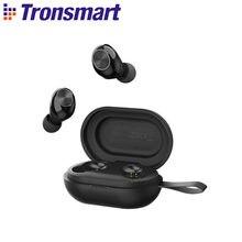 Tronsmart spunky Beat bluetooth fones de ouvido suporte app/toque consol, qualcommchip sem fio fones de ouvido com aptx, cvc 8.0