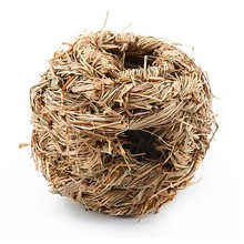 Comfortable Pet Woven Cage Hand-weaved Grass Net for Small Animal Rabbit Guinea Pig Hamster Accessories PCMMA