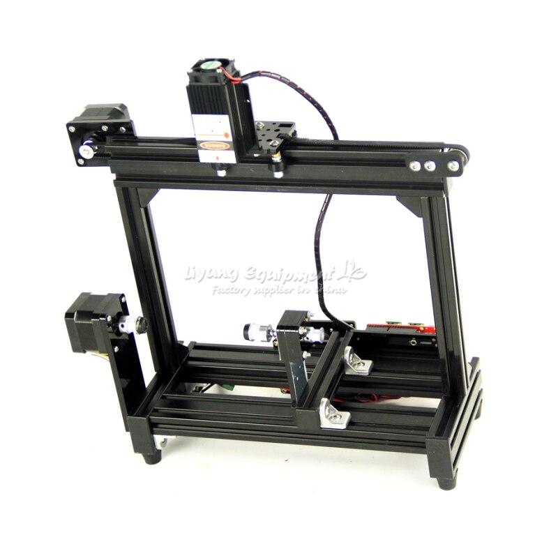 Runde laser gravur maschine DIY desktop zylinder einzelteile eier LOGO bild diode stecher 500MW 2500MW 5500MW