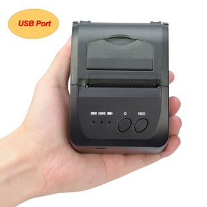 Image 2 - 58mm bluetooth mini pos impresora térmica de bolsillo impressora térmica portátil teléfono ticket android pos impresoras inalámbricas imprimir logo