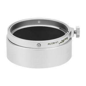 Image 2 - Haoge LH M37W Metal Lens Hood for Leica Leitz Elmar 3.5cm 35mm f3.5 replace A36 Silver