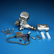 DLE35RA 35CC Gasoline Engine Single-Cylinder Two Stroke Side Exhaust Air Cooled Aircraft Engine For RC Model Planes цена 2017