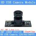 2MP USB модуль камеры 1080P OV2710 Full Hd MJPEG 120FPS 60/30fps высокоскоростной Мини CCTV Linux UVC веб-камера компактная камера видеонаблюдения