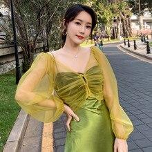 Bolero Women Cape Jacket Mariage Evening-Dress Yellow Shawls Wraps Shrug Tulle Wedding