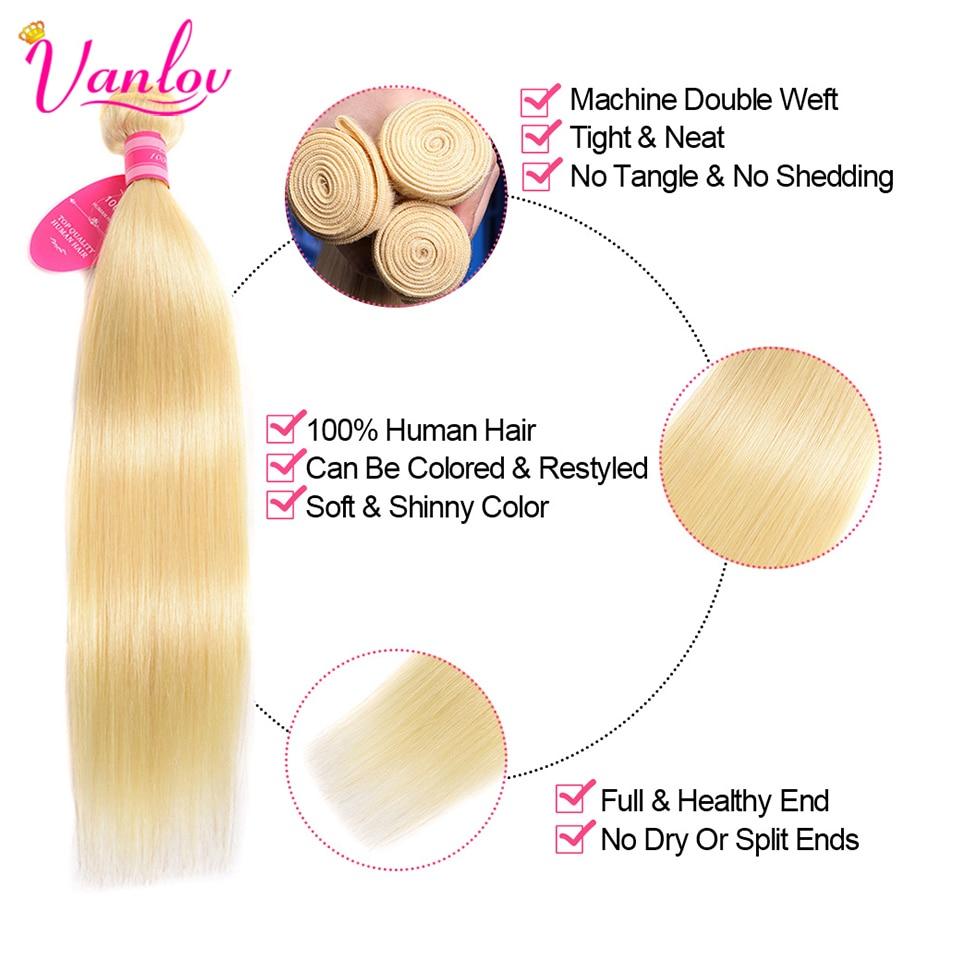 Vanlov-High-Ratio-Brazilian-Straight-Hair-613-Honey-Blonde-Bundles-8-26-inch-4-Bundles-Remy.