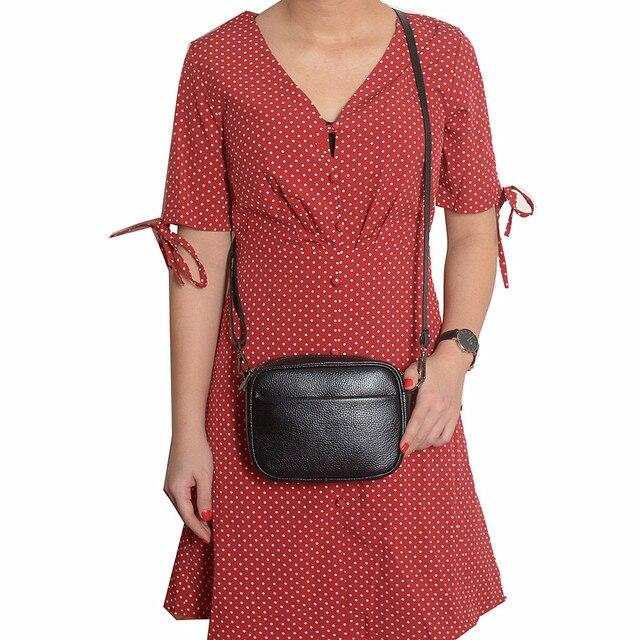 Designer woman leather handbag small luxury shoulder bag cross body fashion messenger bags women black genuine leather handbag