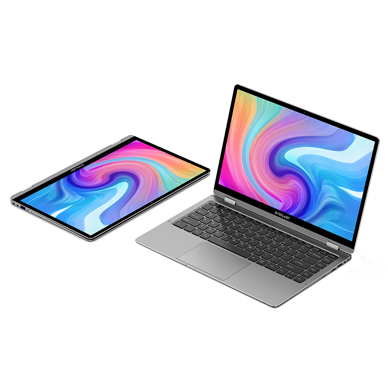 Teclast Newest Laptops F6 Plus 13.3 inch Notebook Gemini Lake 8GB LPDDR4 256GB SSD Windows 10 Laptop 360° Rotation Touch Tablet-4