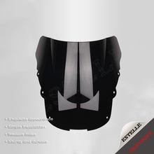 Para honda cbr1100xx cbr 1100xx 1996-2007 2 cores de alta qualidade motocicleta preto pára-brisa duplo bolha defletor