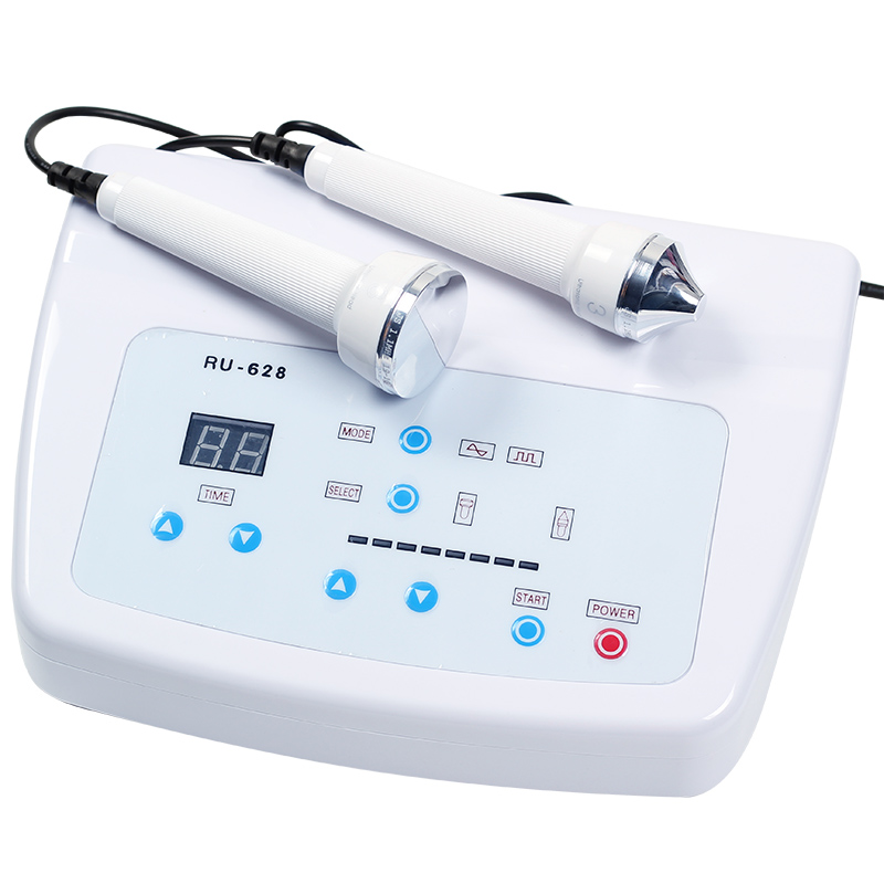 EMS Ultrasonic Women Skin Care Whitening Freckle Removal High Frequency Lifting Skin Anti Aging Beauty Massage Facial Machine