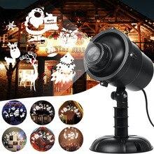 Перемещение Полный Небо Звезда Лазер Проектор Пейзаж Освещение Рождество Вечеринка Светодиод Сцена Свет Открытый Сад Газон Лазер Лампа