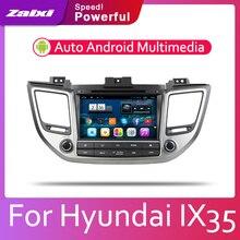 ZaiXi 8 HD 1080P IPS LCD Screen Android 8 Core For Hyundai IX35 Tucson 2015~2018 Car Radio BT 3G4G WIFI AUX USB GPS Navi
