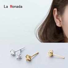 La Monada Stud Earrings For Women Silver 925 Flower Fine Women Earrings Jewelry Stud Earrings 925 Sterling Silver Gold