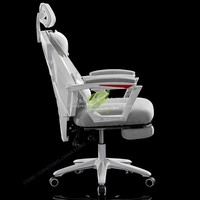 38%Mesh Seat Office Chair Gaming Chair Game Gamer Seat Office Furniture Synthetic Leather Mesh Chair Rotatable With Handrails