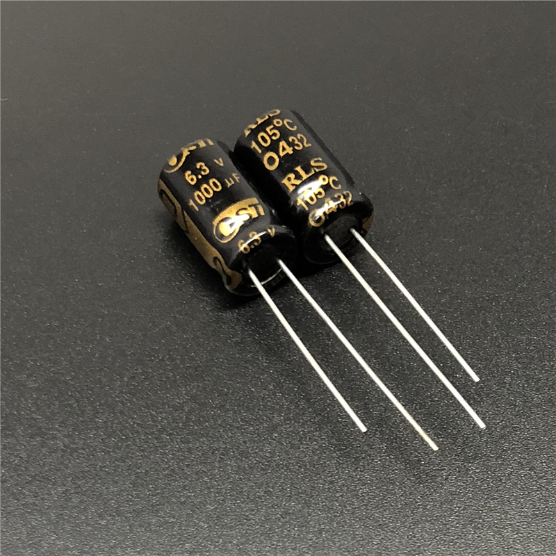 20pcs 1000uF 6.3V OST RLS 8x12mm Long Life Low ESR 6.3V1000uF Motherboard Capacitor
