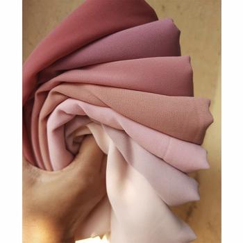 72*175cm muzułmański szyfonowy hidżab szale szalik kobiety jednolity kolor głowy okłady kobiety Hijabs szaliki damskie Foulard Femme muzułmańskie welon tanie i dobre opinie HANYIMIDOO NONE CN (pochodzenie) Szalik hijabs POLIESTER Na co dzień Dla osób dorosłych Z szyfonu hijab scarf MSL20002