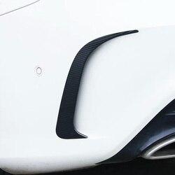 Tylne światła przeciwmgielne listwa oświetleniowa do mercedesa w205 amg mercedes klasa c akcesoria W205 Mercedes w205 dekoracja zewnętrzna z włókna węglowego