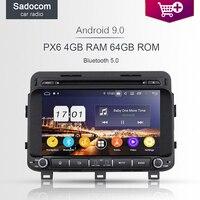 1080P DSP PX6 Android 9.0 8Core 4GB RAM car radio 4G GPS navi Map Car multimedia DVD Player autoradio kia K5 OPTIMA 2014 2015