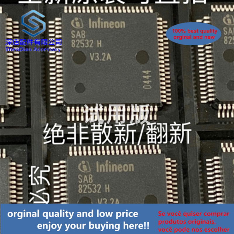 1pcs 100% Quality Orginal New SAB82532HV3.2A INFINEON QFP80 SAB82532H-V3.2A Best Qualtiy