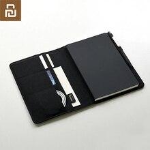 Chaud youpin Kaco Noble papier cahier PU carte fente portefeuille livre maison intelligente pour bureau affaires voyage meilleur cadeau