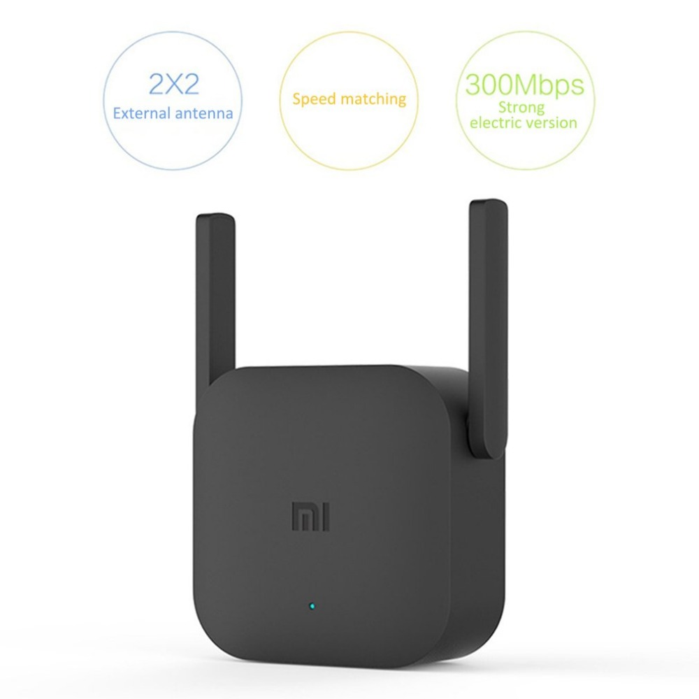 Xiaomi WiFi Repeater Pro 300M Amplifier Network Expander Router Power Extender 2 Antenna for Router Wi-Fi Home