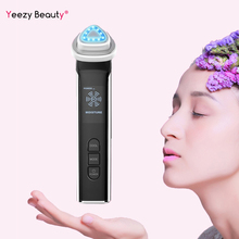 5 in 1 Electroporation RF Radio Frequency Facial LED Photon Skin Care Device Face Lifting Tighten Eye Care Wrinkle Removal