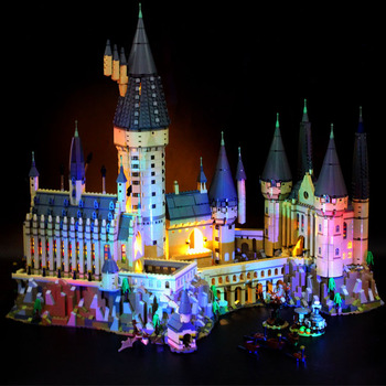 Led Light Set For Compatible with castle 71043 16060 Harri movie Education Building Blocks bricks Toys Christmas Gifts image