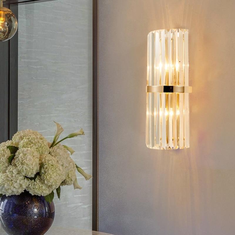 parede cristal sala estar criativo decorativo lâmpada
