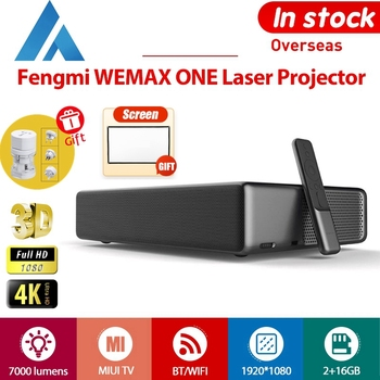 Fengmi WEMAX ONE Projector Full HD 1080P 3D TV Android Phone Wireless Home Laser 7000 lumens ALPD bluetooth WiFi 150 inch