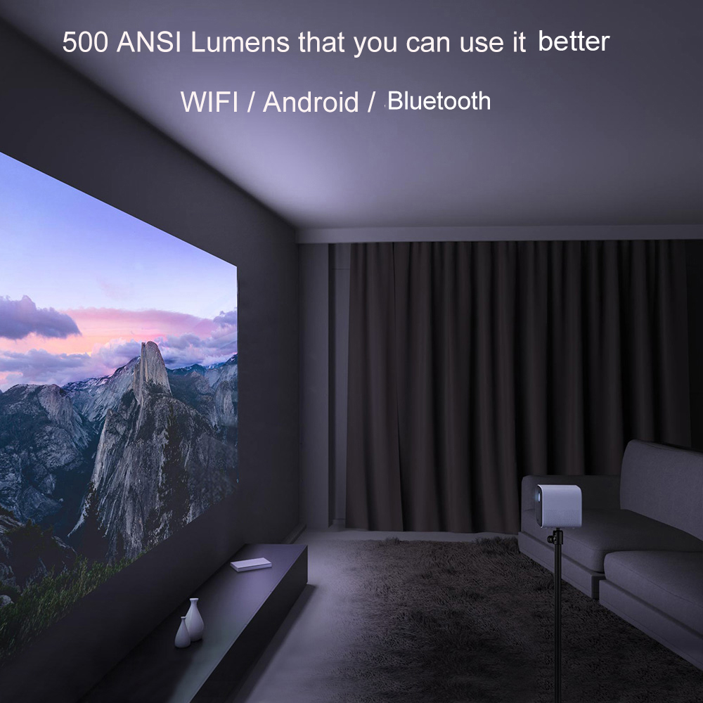 Xiaomi mijia mini projetor dlp portátil 1920*1080 suporte 4k vídeo wi fi proyector led beamer tv hd completo para cinema em casa-5